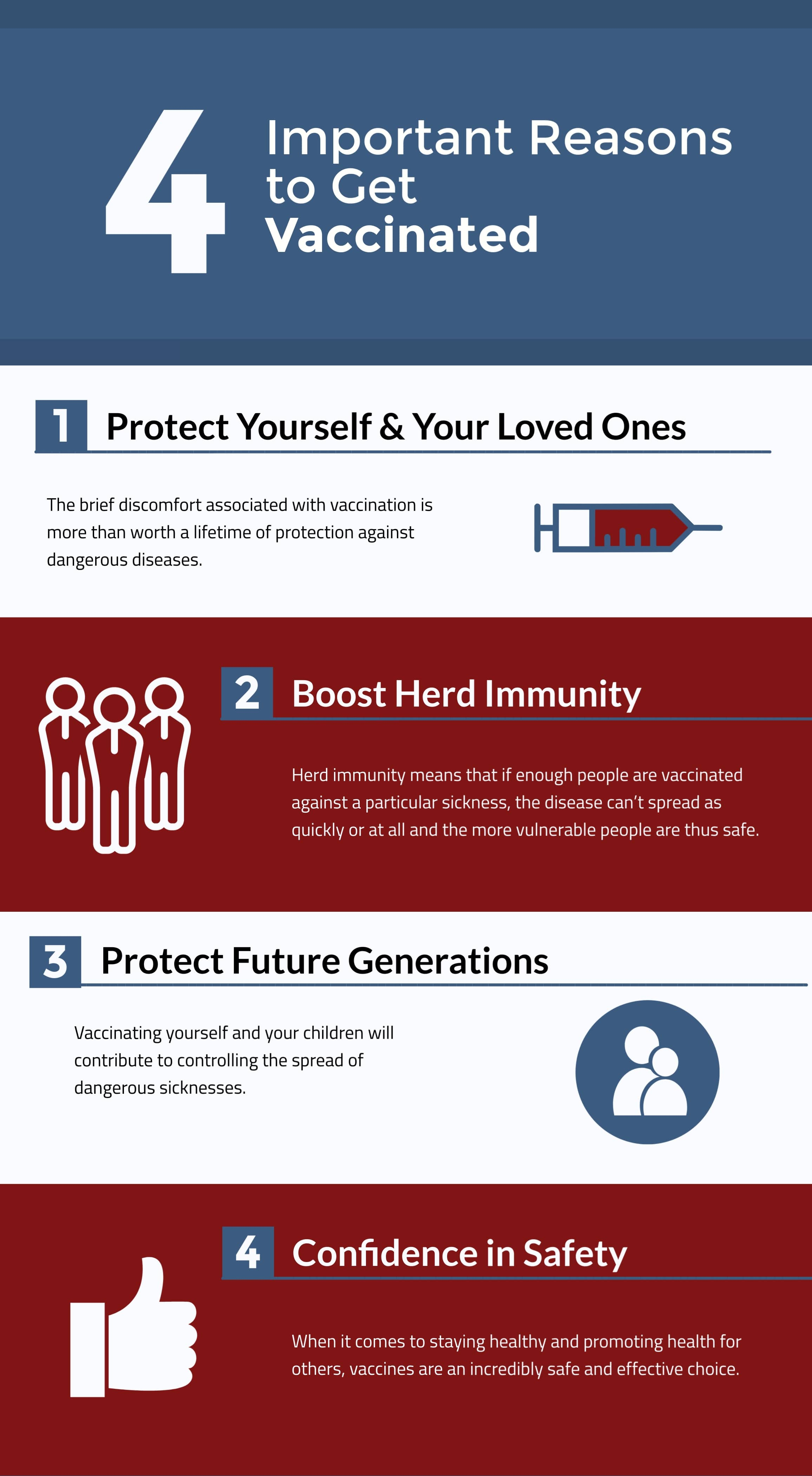 4 Important Reasons to Get Vaccinated, Pasadena Health Center, Pasadena, TX