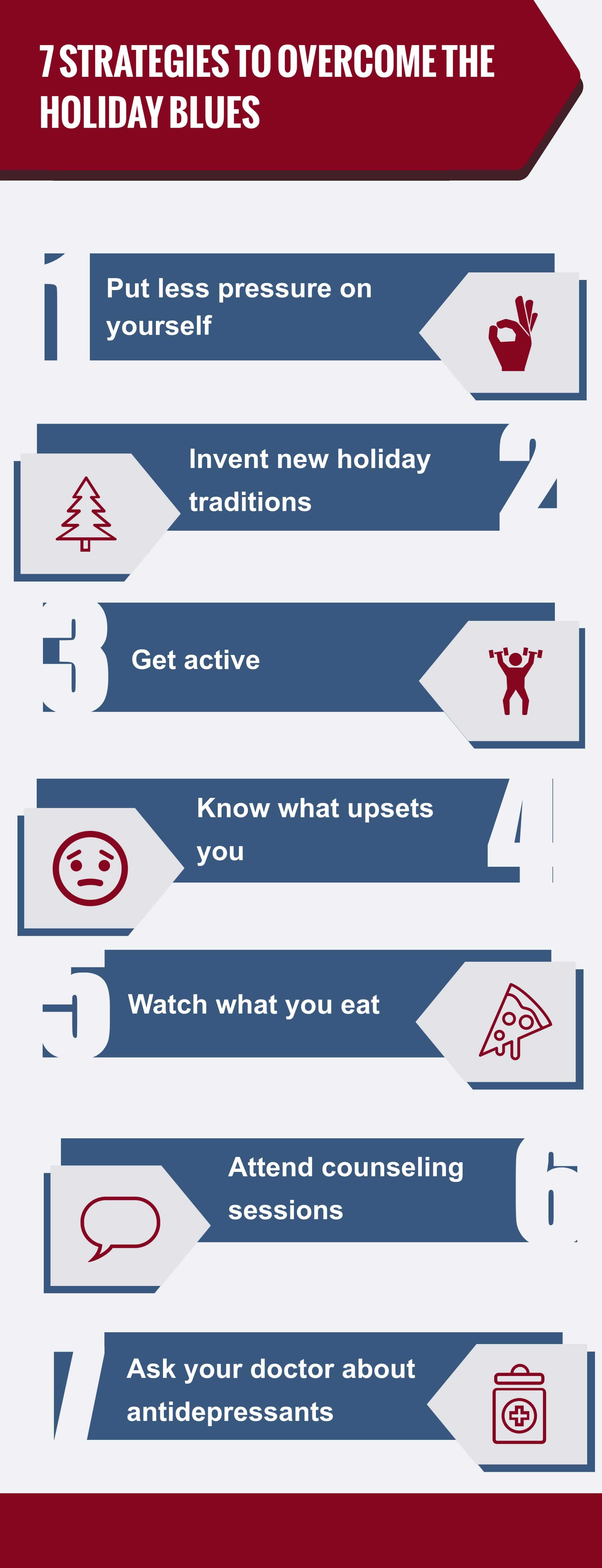 7 Strategies to Overcome the Holiday Blues, Pasadena Health Center, Pasadena, TX